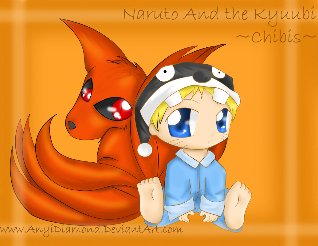 Naruto_and_the_Kyuubi_in_Chibi_by_AnyiDiamond